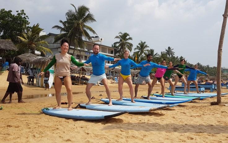 Surf en Hikkaduwa