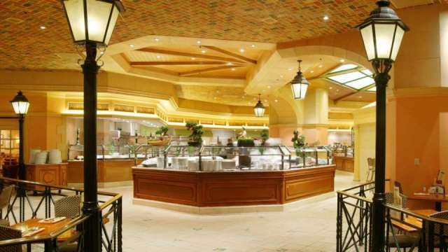 Ambiente interno do Buffet do Bellagio. Foto: site oficial