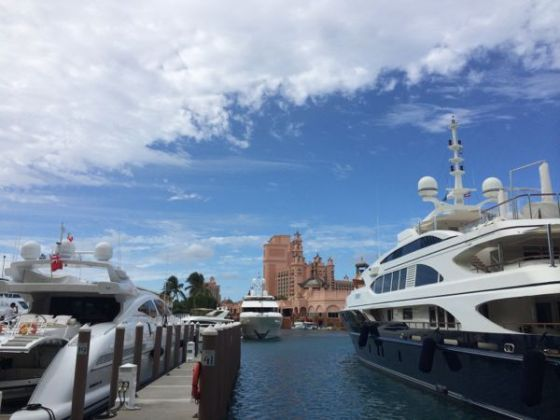 Marina do Atlantis Bahamas