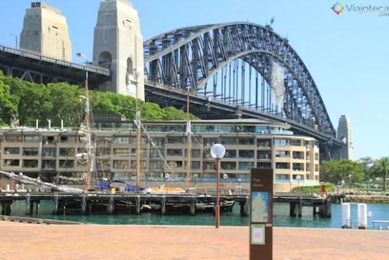 Escalando a Sydney Harbour Bridge