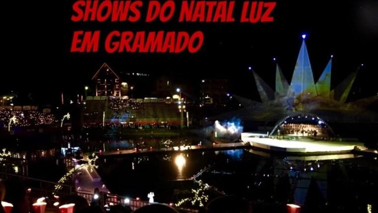 Shows do Natal Luz em Gramado
