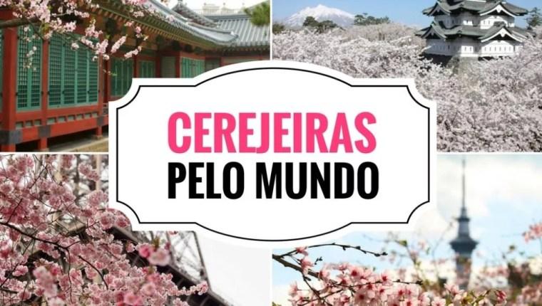 Cerejeiras pelo Mundo