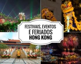 Festivais e Feriados em Hong Kong 2