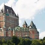 Castelo no Canadá - Chateau Frontenac
