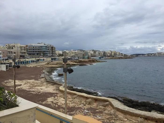 hospedar em Malta no inverno St Paul's3