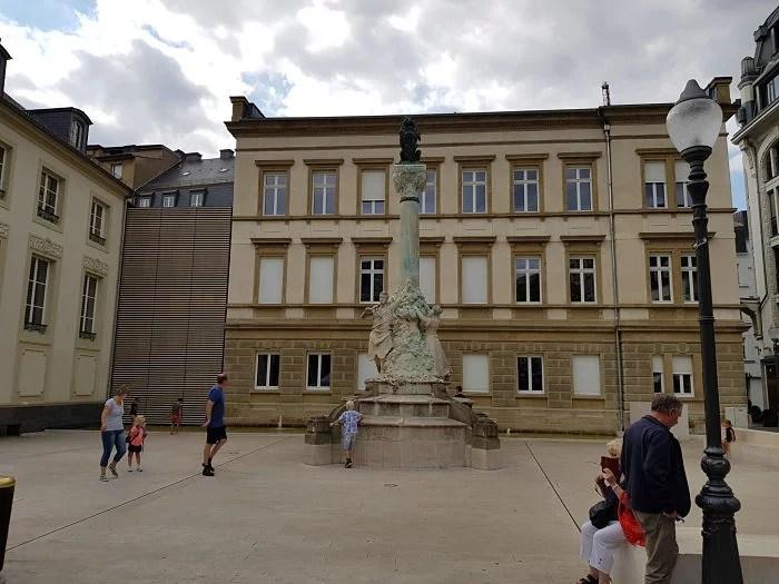Luxemburgo Place Jan Palach