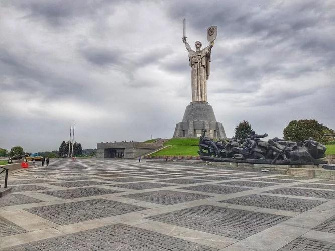 Monumento Mãe Pátria praça