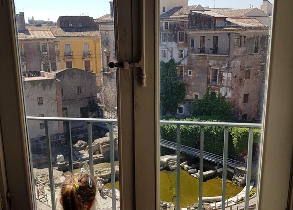 Teatro Romano de Catânia casa liberti
