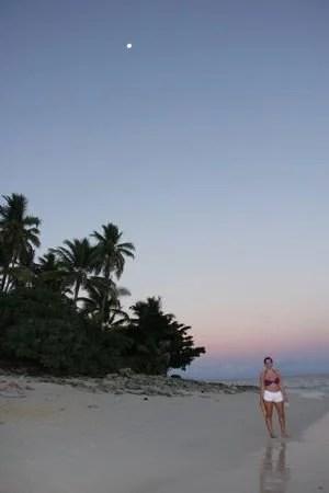 Pôr-do-sol em Fiji