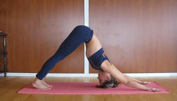 Yoga - Perro boca abajo