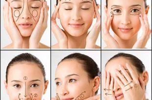 Masaje facial japonés