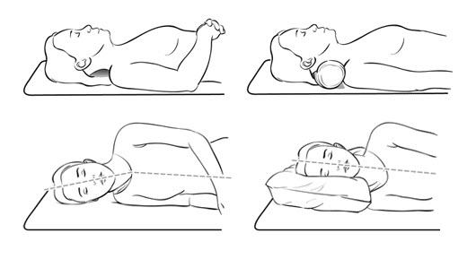 Colocar la almohada correctamente