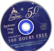 CD distribuído pela AOL