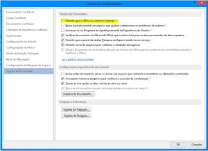 Veja como bloquear a conexão a internet do Office 2013