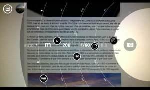 Características da câmera do Lumia 1020