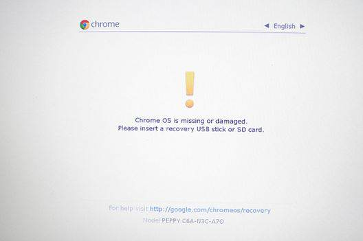 Como instalar o Windows em um Chromebook: acessar modo de Desenvolvedor