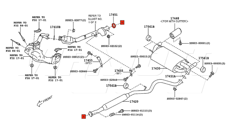 Viamoto Car Parts Toyota Gt86 Zn6 Parts Toyota Gt86