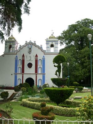Church at Santa Maria del Tule
