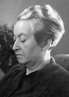 Gabriela Mistral in 1945