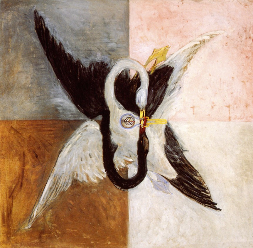 The Swan, a painting by Hilma af Klint