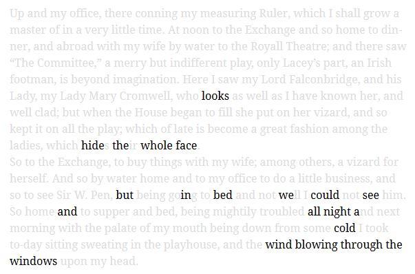 erasure poem screenshot