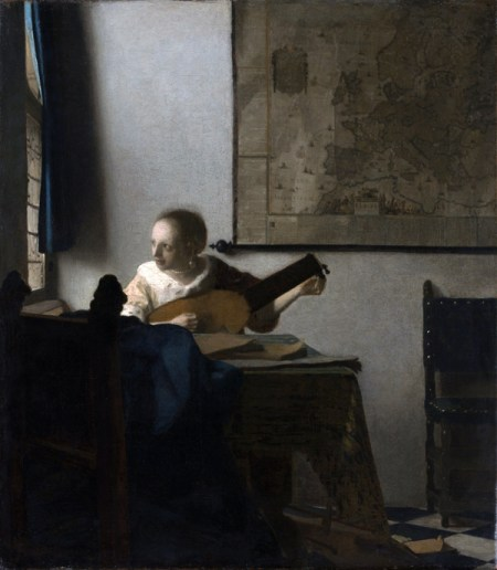 Vermeer – Woman with a Lute