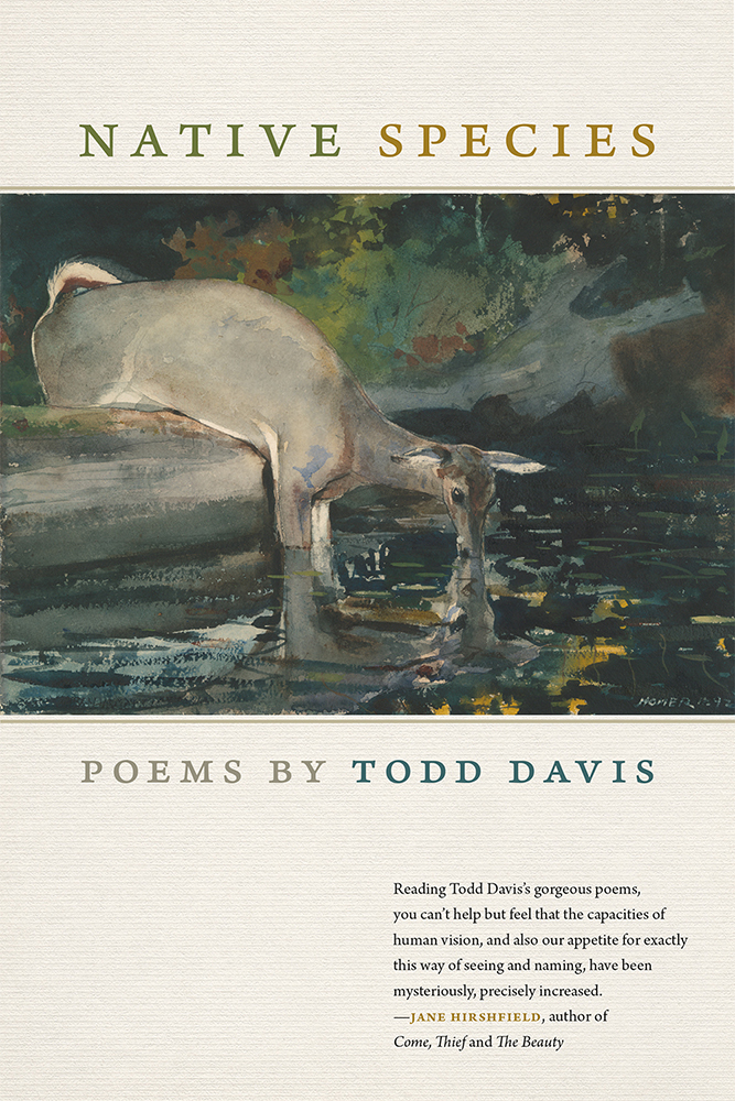 cover of Native Species by Todd Davis