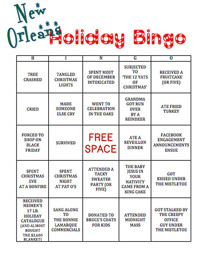 New Orleans Bingo Via Nola Vie