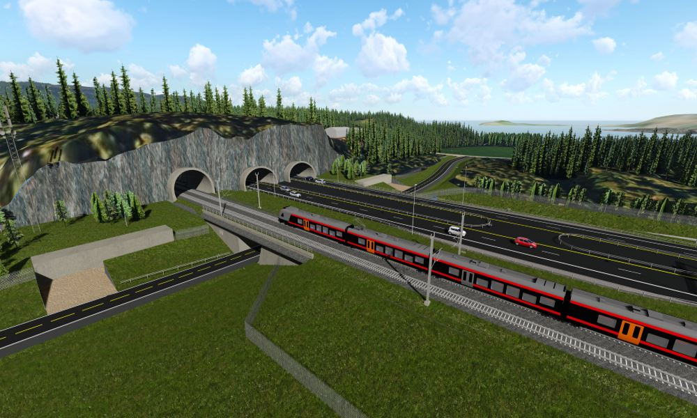 Fellesprosjektet Ringeriksbanen og E16