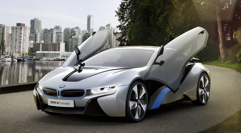 bmw i8 le nouvel hybride de luxe viaprestige lifestyle. Black Bedroom Furniture Sets. Home Design Ideas