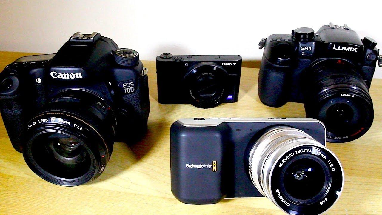 Beberapa Jenis Kamera, DSLR, MIrrorless, dan Pocket