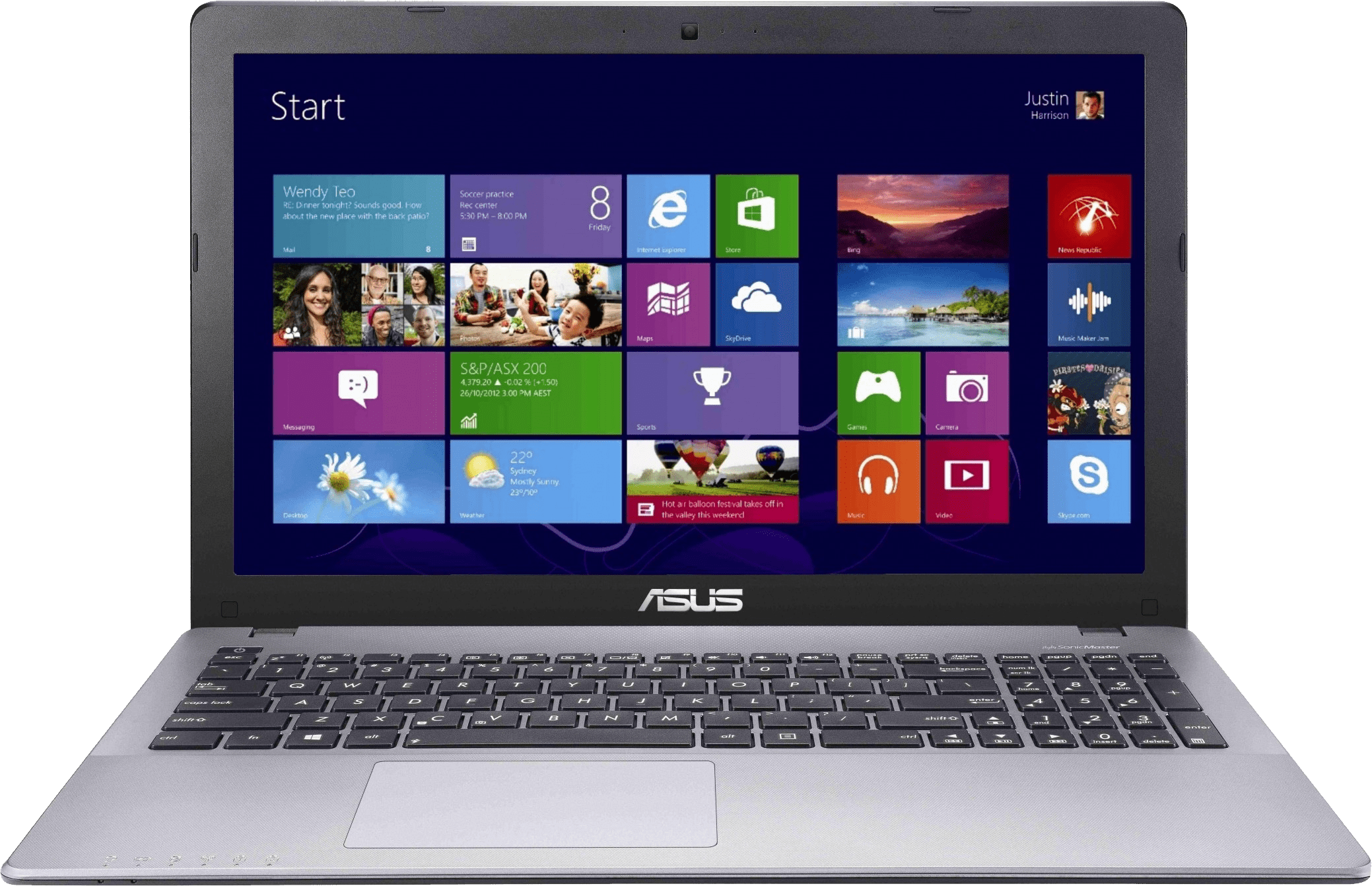 Laptop Asus Dengan OS Windows 8.1