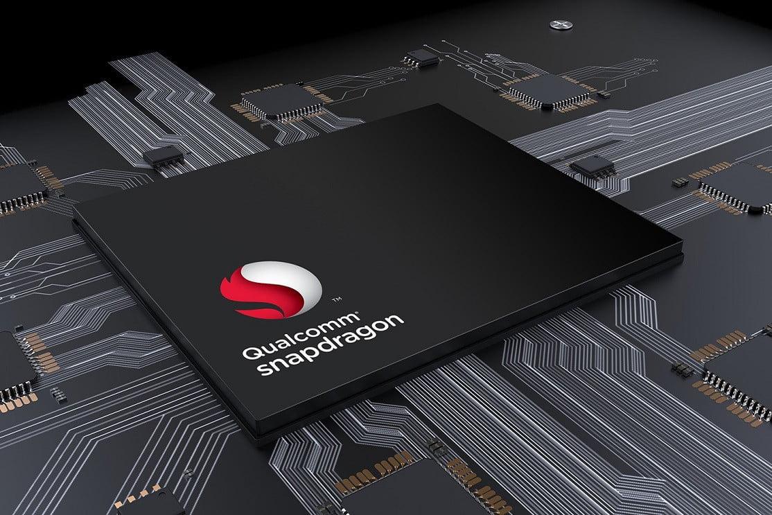 Background dan Logo Qualcomm Snapdragon