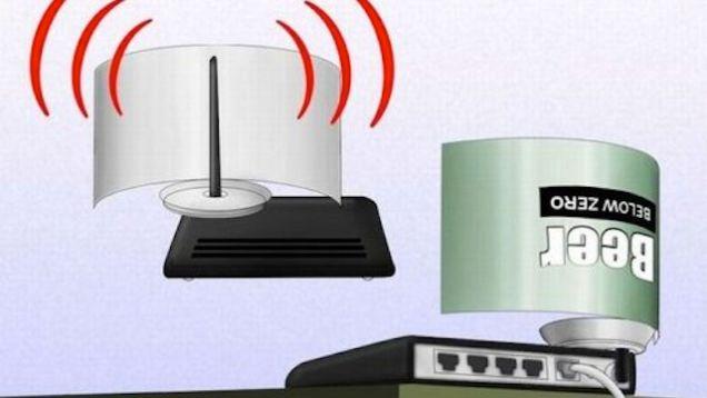 Ilustrasi Cara Memperkuat Sinyal Wifi