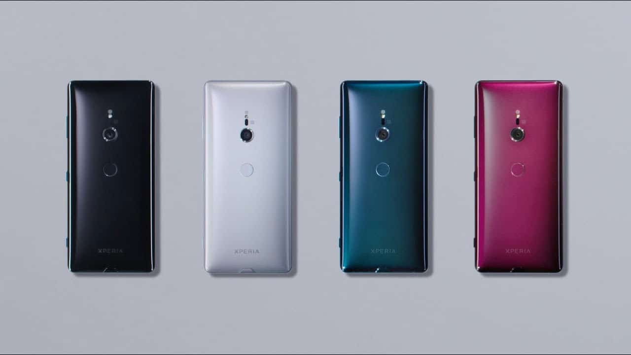 Smartphone Android Sony Xperia XZ2