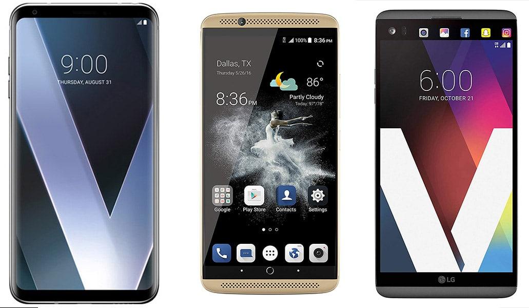 Smartphone Dengan Audio Terbaik Di Tahun 2019. LG V30, ZTE AXON 7, Dan LG V20