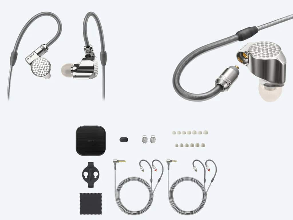 Earphone In Ear Monitor Sony IER-Z1R Package