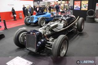 Spectacular display of Delage Grand Prix cars.