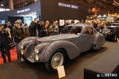 """Particularly amazing was for exmaple this """"third"""" Bugatti Atlantic. But many others could qualify as """"particulary amazing"""" - consult the gallery below."""