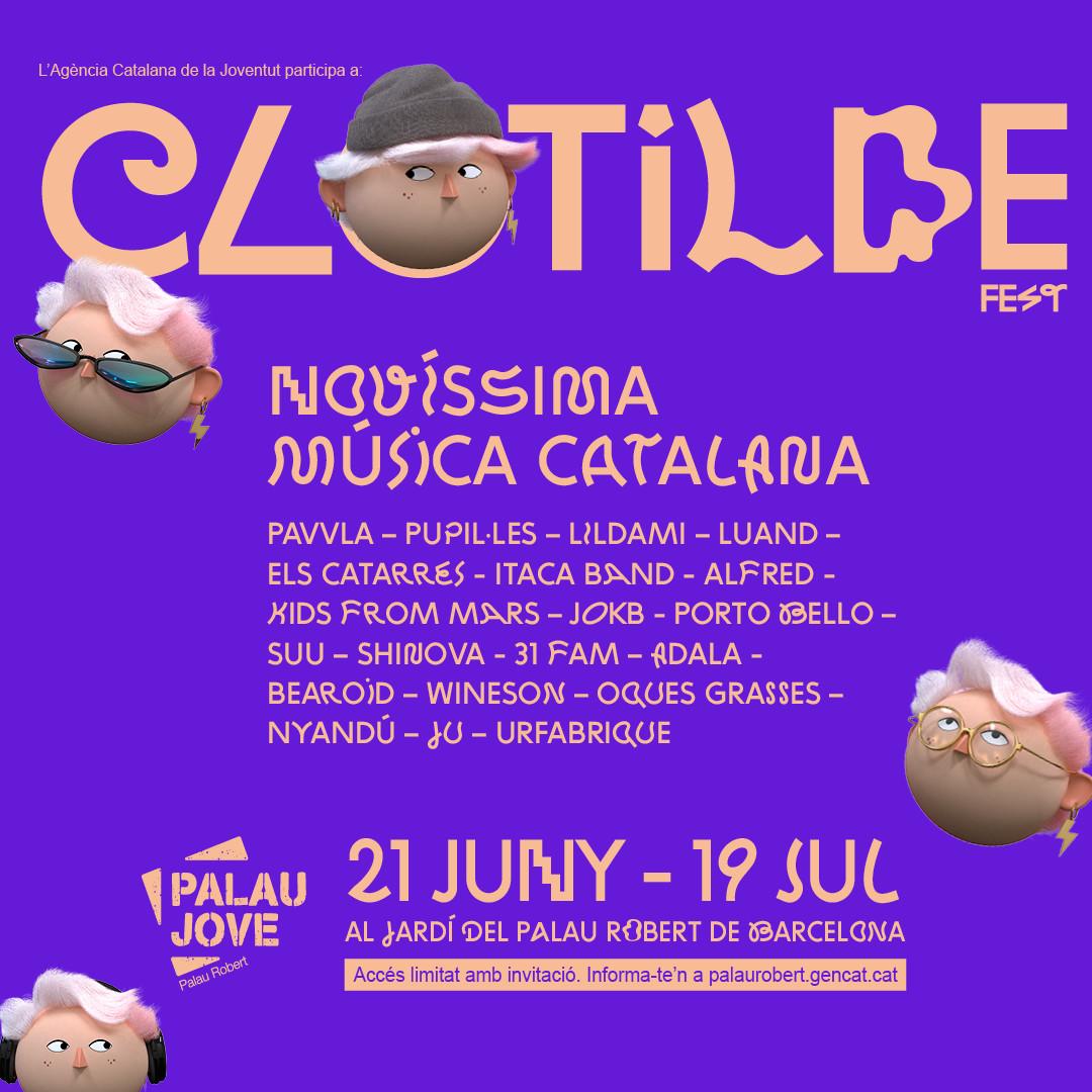 RACó MUSICAL: El Palau Robert acull el Clotilde Fest, el cicle de concerts que aposta per les bandes joves