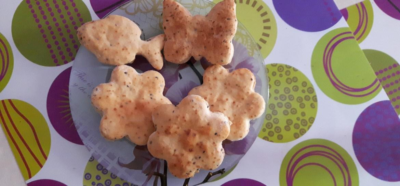 biscuiti cu unt si seminte de chia pentru copii