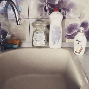 săpun-cremă lichid Dove