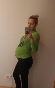 burtica din saptamana 36 de sarcina
