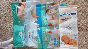 servetele umede consumate de bebe