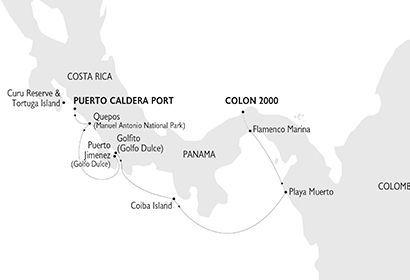 Crucero Variety Cruises - Costa Rica y Panamá cruzando Canal de Panamá