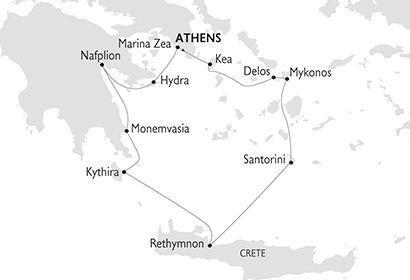 Crucero Variety Cruises - Grecia Clásica