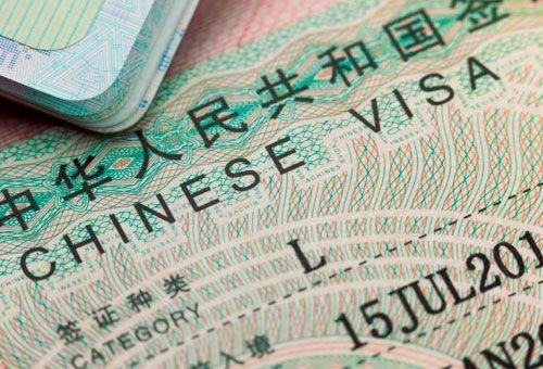 Visados a China