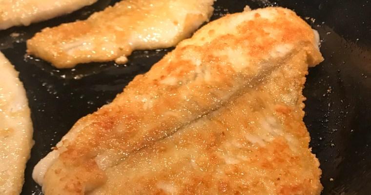 Panerad fisk – Snabbmat i värmen