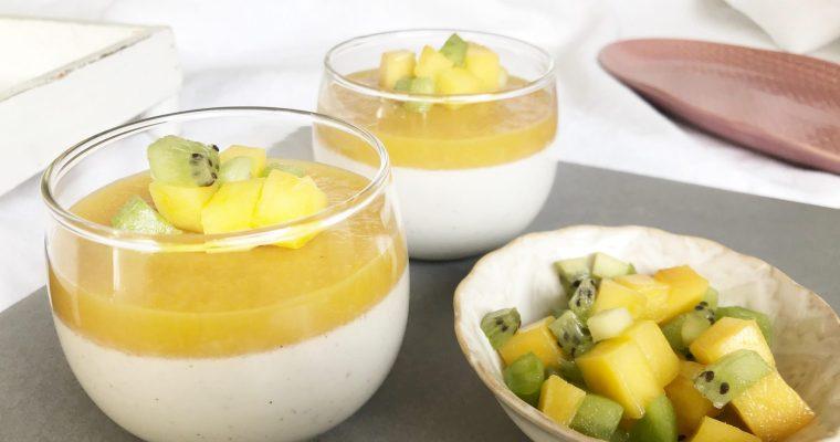 Mjölkfri Pannacotta är enkelt och gott! (AIP)
