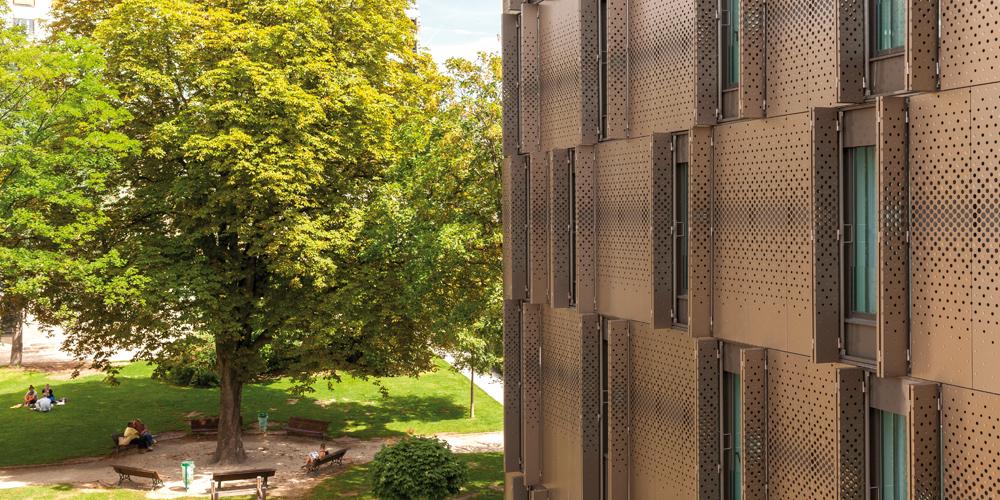 HR-5450 VIB Architecture Crèche logements Ménilmontant